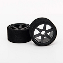 1/12 PAN CAR TIRES - ONE - FRONT SH32