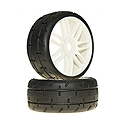 GRP Tyres 1:8 GT Treaded S3 Soft White