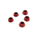 Aluminum M3 Hex. Socket Cap Washer (Red) 5pcs
