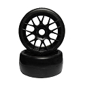 Sweep Soft/45 Tires in evo 16 rim - black