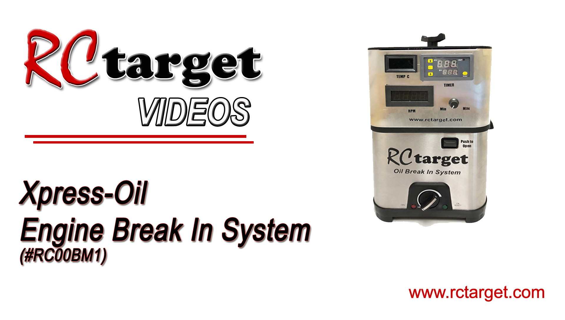 Xpress-Oil Break In System (English)