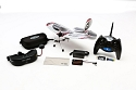 E-flite FPV Vapor RC Airplane Fully Assembled RTF with Fat Shark Goggles EFLU660