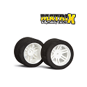 1/10 GPR Rear 44mm Tyres 37 Shore