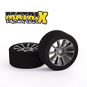 Sedan Rear 30mm Tyres 30 Shore AIR Carbon Wheel