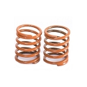 FRONT SHOCK SPRINGS 0.61KG BROWN ( 2PCS )