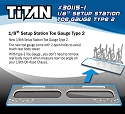 TiTAN 1/8th Setup Station Toe Gauge Type 2