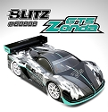 BLITZ GT5 Zonda 1/8th On-Road GT Body-Shell (1.0mm) with 299mm wing