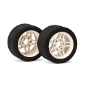 1/8 Front Tyres 30 Shore PRECISION FIVE Wheel