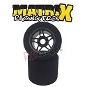 1/8 Rear Tyres 32 Shore Carbon 5 Flex Wheel