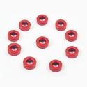 Aluminum 3mm bore 1.5mm (Red)