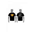 Super Capricorn T-Shirt Black - XXXL