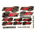 IGT8 Precut Decal Sheet