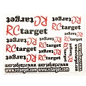 RCtarget Precut Decal Sheet
