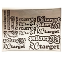 RCtarget Precut Silver Decal Sheet