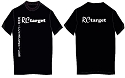 RCtarget T Shirt Black Medium