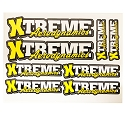 Xtreme Aerodynamics  Precut Decal Sheet