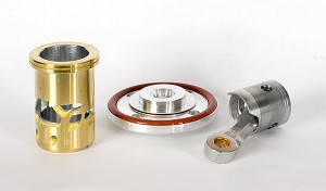Complete Piston and Sleeve + Underhead + O'ring for Mephisto GT