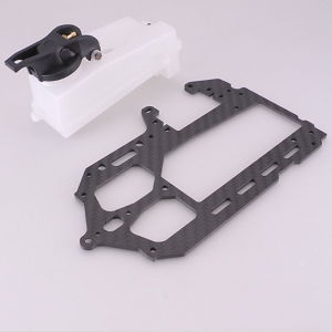 CARBON RADIO PLATE AND FUEL TANK KIT