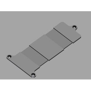 Rx Plastic Battery Plate 1/10 & 1/8