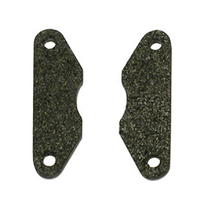 Brake Pad with Plate 2Pcs