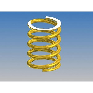 Front Spring -Soft Gold (2 pcs)