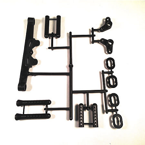 Body Mount  Set Front and Rear