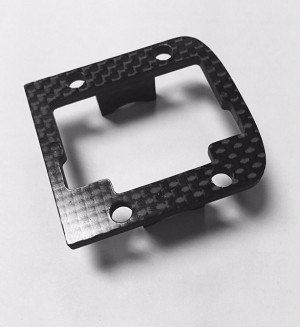 Carbon Fiber Transmission Top Mount for GT Nitro