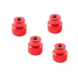 Aluminum Nut for 1/10 Set-Up Station (Red)