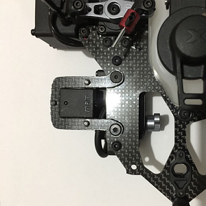 MRT Transponder mount for Capricorn and Xray