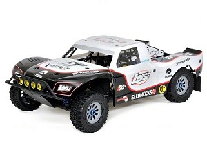 Losi 5IVE-T 1/5 Scale 4WD Short Course Truck (White)