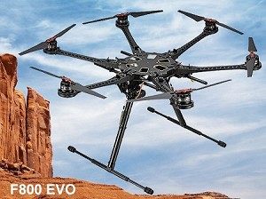 F800 EVO Multi-Rotor with Retractable Landing Skid